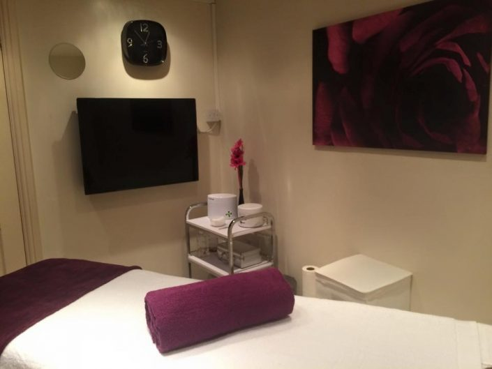 Eden Beauty room at Charles Lewis